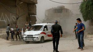50 Orang Tewas dalam Serangan Udara di Provinsi Hama