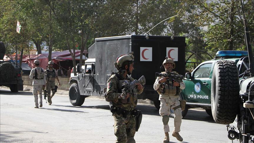 Serangan Martir Taliban Hantam Konvoi Pasukan Bentukan AS, 15 Tewas