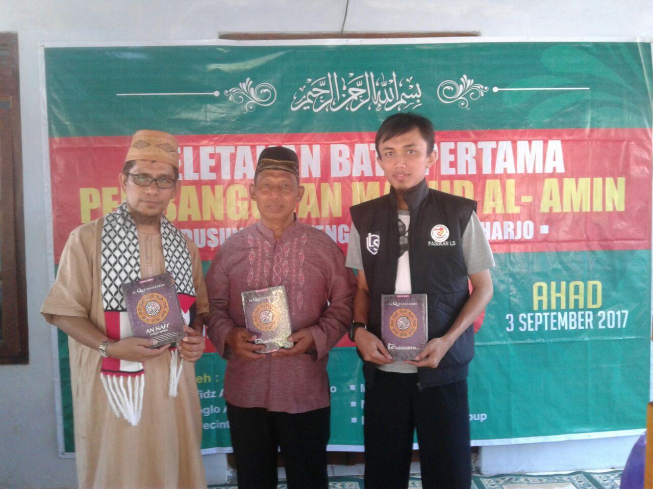 KPS Gandeng Dai Berwibawa Gio Tebar Kurban di Daerah Rawan Akidah