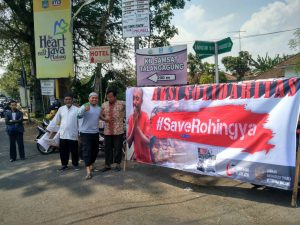 Peduli Muslim Rohingya, Ansharusyariah Jawa Timur Galang Dana