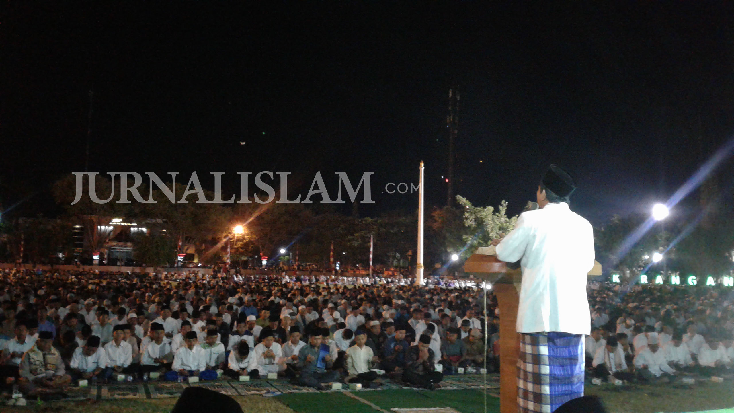 Umat Islam Karanganyar Gelar Doa Bersama dan Shalat Ghaib Peduli Rohingya