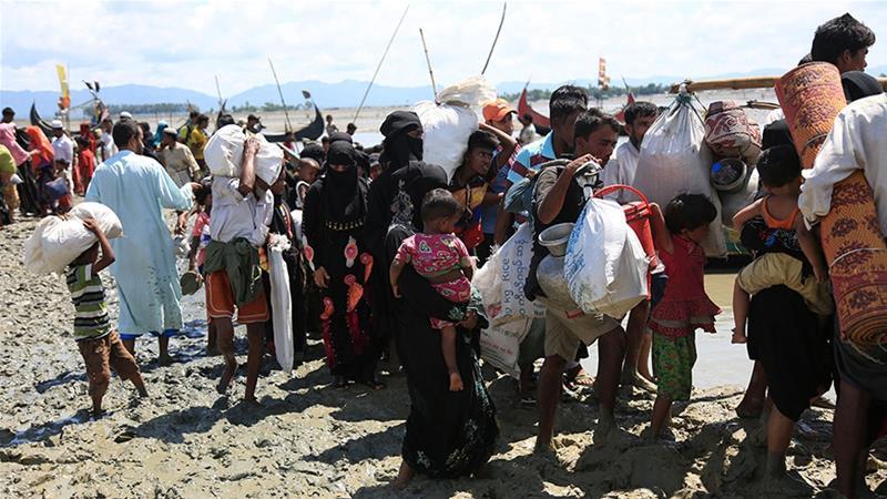 Begini Kabar Terakhir Pengungsi Muslim Rohingya di Perbatasan Bangladesh