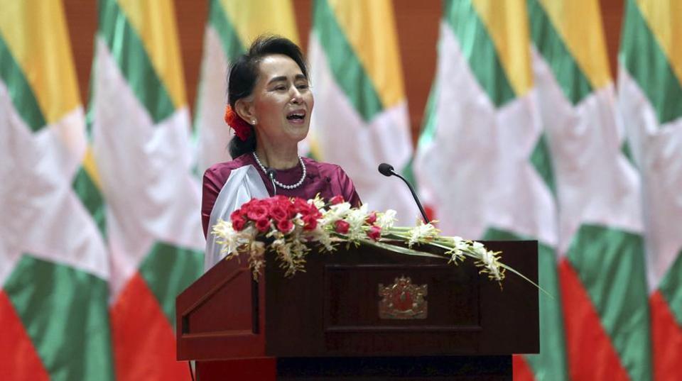 Aung San Suu Kyi Pidato pada Dunia, Muslim Rohingya: Suu Kyi Pengkhianat!