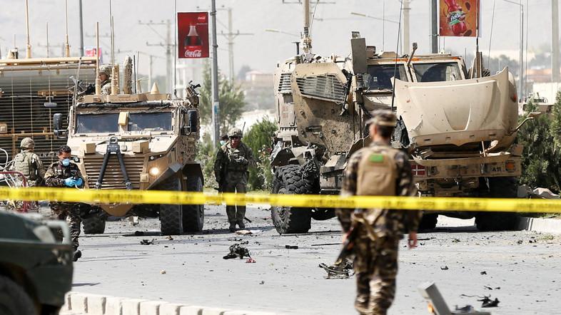 Serangan Bom Mobil Taliban Hantam Konvoi Pasukan NATO di Kabul
