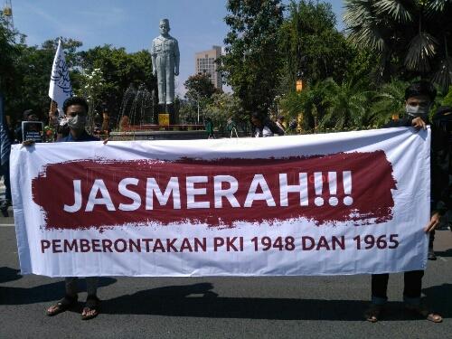 Aksi Menolak Lupa G30S/PKI Surabaya: Aplikasi Rill Jaga NKRI