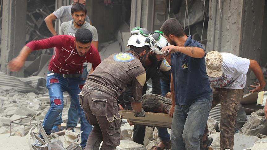 SNHR: 912 Warga Sipil Suriah Tewas oleh Serangan Rusia dan Rezim Assad