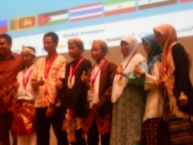 Siswa Madrasah Raih Penghargaan di Ajang International Young Invention Award 2017