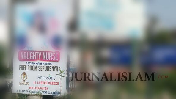 Pasang Baliho 'Naughty Nurse' Berpose Gadis Seksi, PPNI Surakarta: Pelecehan Profesi Mulia!