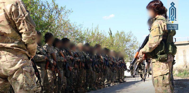 Pejuang Hayyat Tahrir al Sham di Idlib