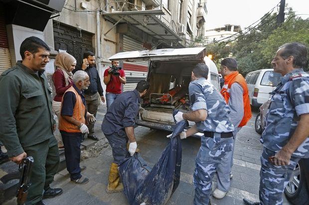 Markas Komando Polisi Rezim Assad di Damaskus Dihantam 3 Serangan Bom