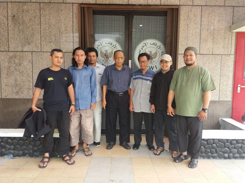 Studi Program tentang Wakaf Produktif, IDC Silaturahim dengan BWI