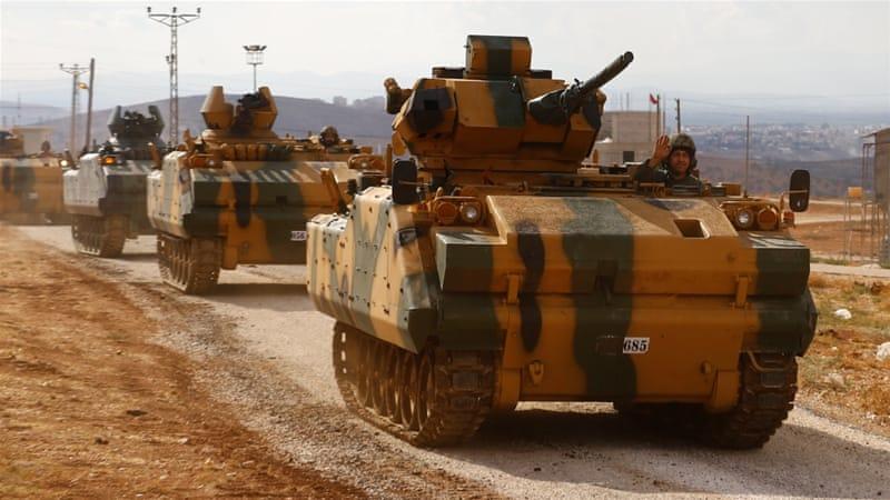 Serangan Roket Hantam Konvoi Militer Turki di Idlib