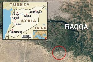 SDF Gelar Spanduk Pemimpin Terror Turki dalam Perebutan Kota Raqqah