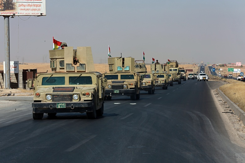 Pasukan Irak dan Milisi Syiah Kembali Kuasai Bagian Utara dan Timur Kota Kirkuk