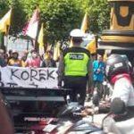 Gelar Aksi Koreksi 3 Tahun Pemerintahan Jokowi, PMII Jember : Janji Politik Tidak Tertunai