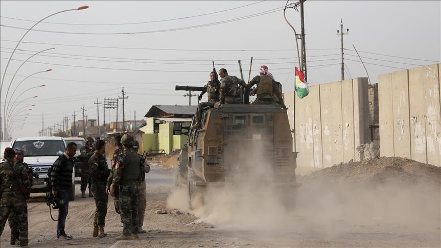 Pasukan Kurdi Lancarkan Serangan Balik ke Komando Operasi Bersama Irak di Kirkuk