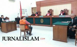 Terdakwa Penistaan Agama Islam Klaten Divonis 2 Tahun Penjara