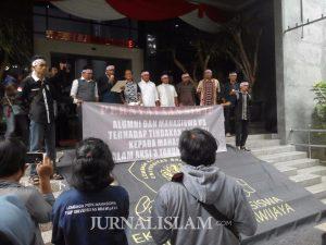 Mahasiswa dan Alumni Universitas Brawijaya Bersatu Tolak Rezim Represif