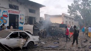 Serangan Bom Hantam Hotel Presiden Somalia, Puluhan Tewas