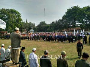 Ribuan Laskar Soloraya Ikuti Gelar Apel Akbar dan Longmarch