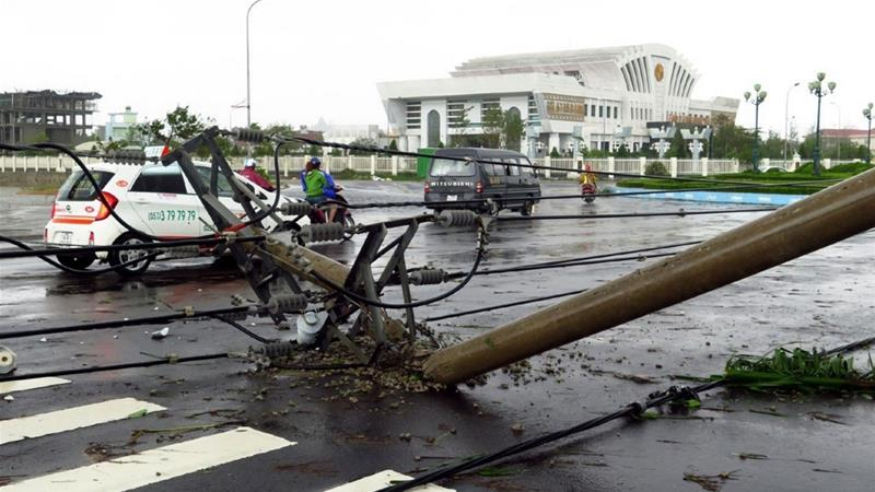 Badai Damrey Hantam Vietnam, Puluhan Orang Tewas dan Hilang