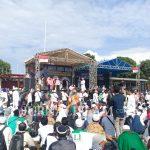 Diawali Longmarch, Puluhan Ribu Umat Islam Hadiri Tabligh Akbar UBN di Garut