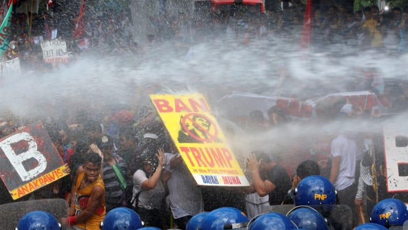 Demonstrasi Manila: Tolak Trump Teroris Nomor 1