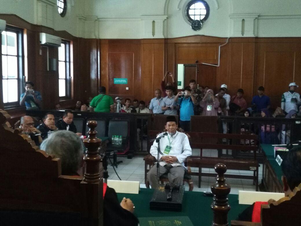 Saksi Ahli Agama Hadir di Sidang Kasus Ustaz Alfian Tanjung