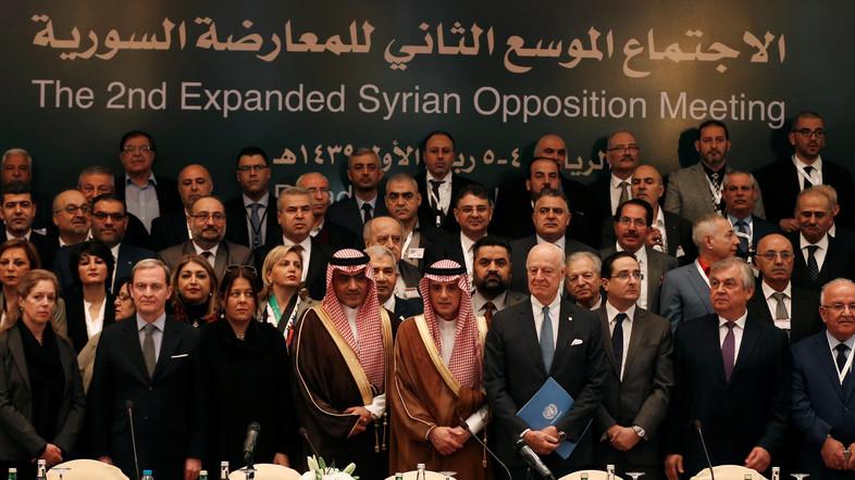 Inilah Komunike Oposisi Suriah Hasil Konferensi di Arab Saudi