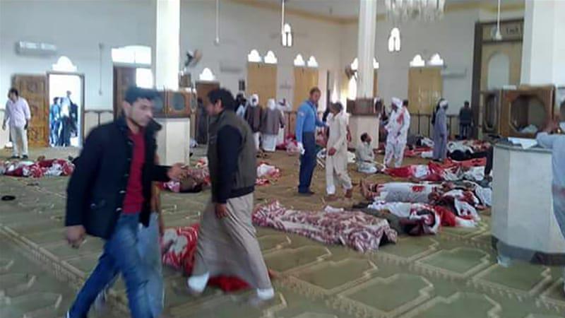 Mesir: Bom Meledak saat Khutbah Jumat Sedang Berlangsung 184 Orang Tewas