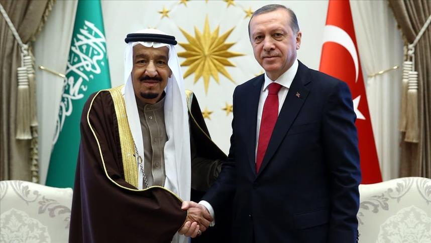 Erdogan dan Raja Salman Bahas Krisis Suriah