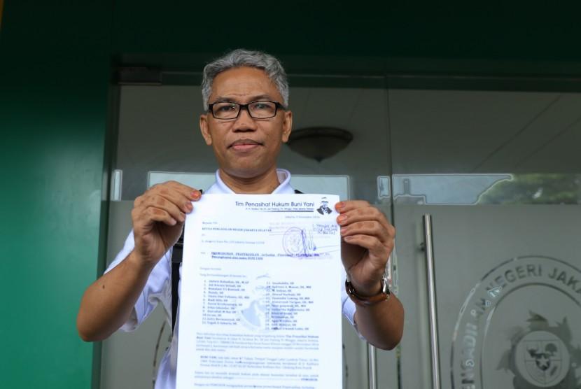 Hari Ini Buni Yani Serahkan Memori Banding ke PN Bandung