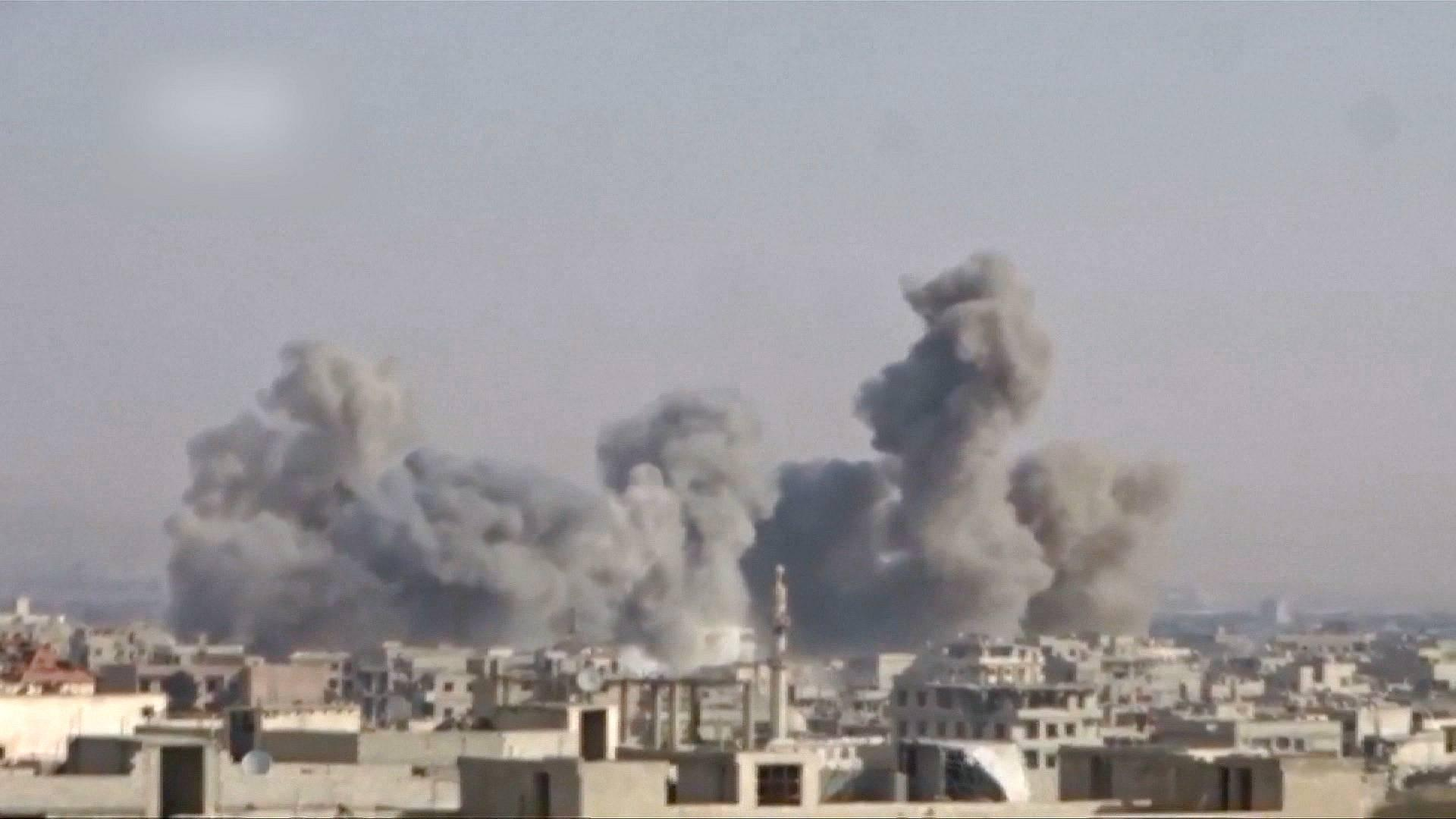 Rezim Syiah Assad Terus Bunuhi Warga Sipil di Ghouta Timur,58 Tewas