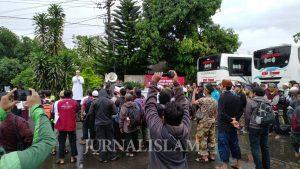 Pagi ini, 50 Bus Kafilah Reuni 212 Soloraya Berangkat ke Jakarta