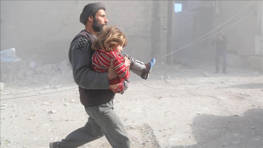 20 Warga Sipil Dibunuh Rezim Syiah Assad di Ghouta Timur