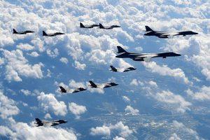 Manuver Jet AS pada Latihan Perang dengan Korsel, Korut: Ini Ambang Perang Nuklir