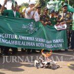 Bela Al Quds, Banser: Semoga Allah Kasih Gempa Itu Negara Israel