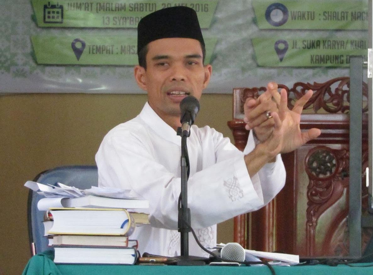 Ustadz Abdul Somad: 'Ketika Kita Menolong Agama Allah, Itulah Hizbullah'
