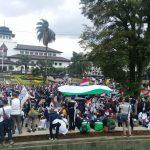 Massa Geng Motor Brigez, XTC, Moonraker hingga Pelajar Bandung Bersatu Bela Palestina