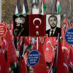 Bersamaan dengan Aksi Bela Palestina di Monas, Ribuan Warga Turki Gelar Aksi Serupa