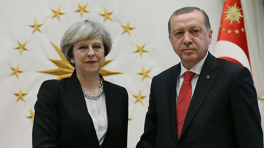 Dukung Resolusi DK PBB , PM Inggris dan Erdogan Lakukan Pembahasan Lanjutan