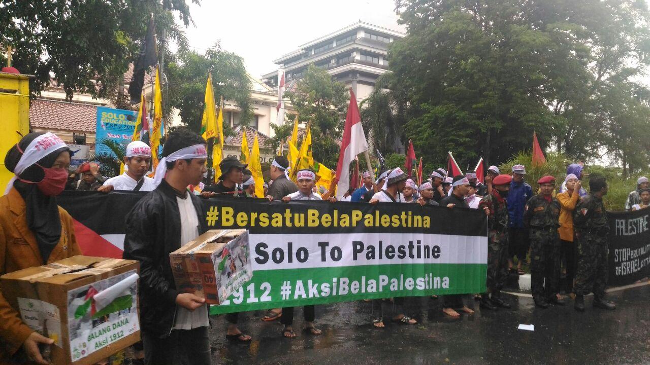 Angkatan Muda Muhammadiyah Soloraya Serukan Boikot Produk AS dan Israel