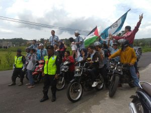 Kini Giliran Ratusan Pelajar STM dan SMK Semarang Gelar Aksi Peduli Palestina