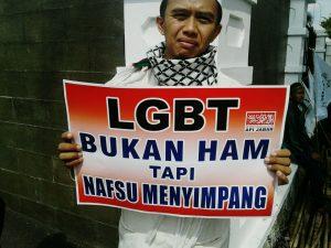 Sampaikan Aspirasi, Warga Jabar Gelar Aksi Longmarch Tolak LGBT