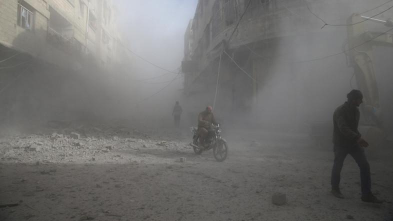 Jet Tempur Rusia Kembali Bunuhi Warga Sipil di Ghouta Timur, 23 Tewas