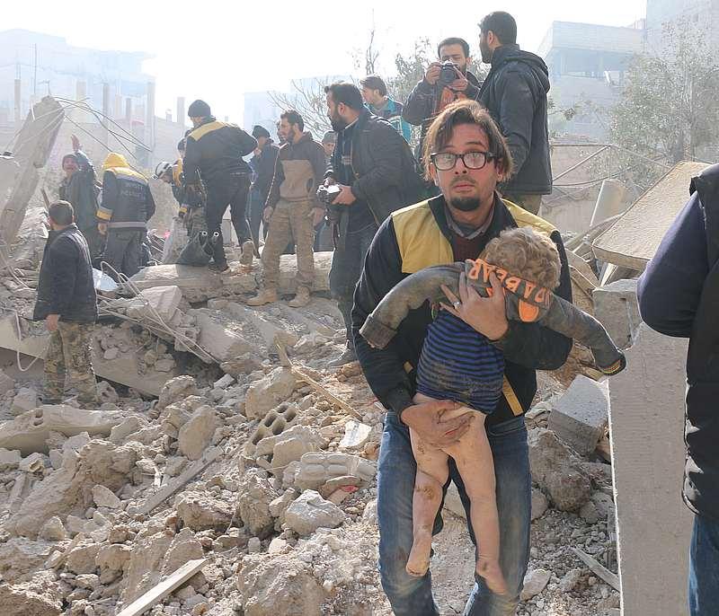 PBB Kecam Pembantaian Warga Sipil Ghouta Timur oleh Rezim Assad dan Rusia
