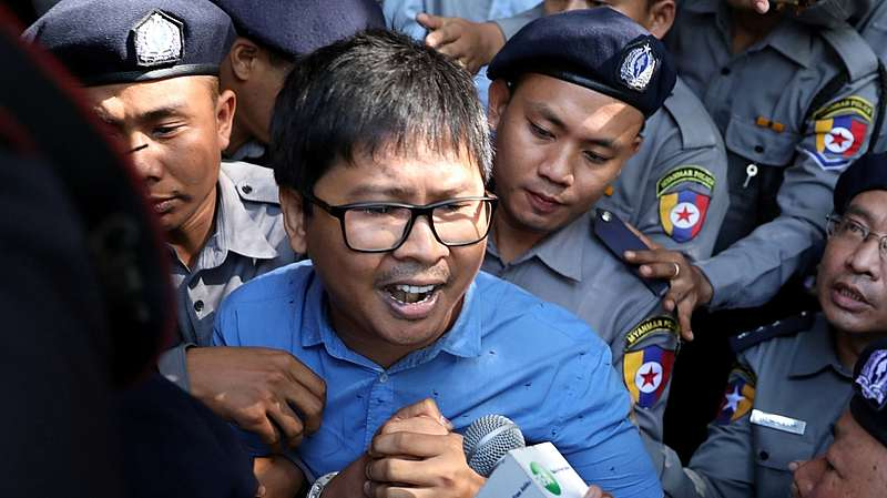Bongkar Rahasia Pembantaian Muslim Rohingya, Wartawan Reuters Ini Hadapi Pengadilan Myanmar