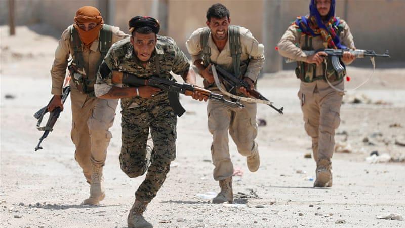 Pertempuran Pasukan Turki dengan YPG Dukunan AS Telah Berlansung di Afrin