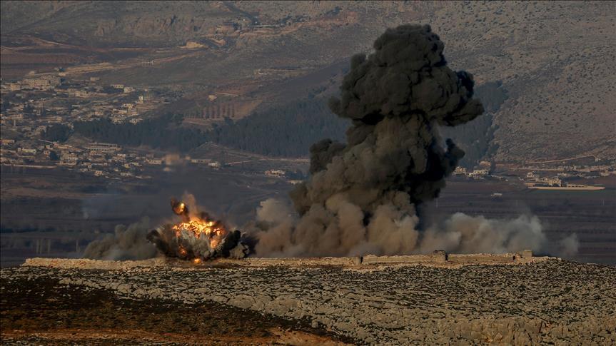 Turki Mulai Gempur Milisi Dukungan AS di Afrin dengan Serangan Udara dan Darat