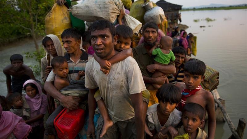 Kondisi Kamp Pengungsi Muslim Rohingya di Bangladesh Semakin Memburuk